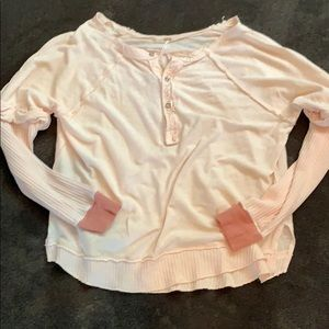 Free people boho shirt. In new condition
